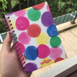 smiggle ring notebook