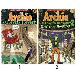 Archie Specials: Halloween Blowout 1 and 2 (ebook