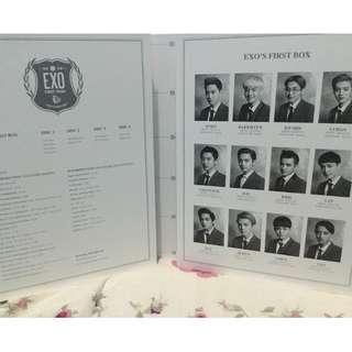 EXO - EXO'S FIRST BOX DVD