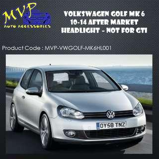 Volkswagen Golf MK6 2010 to 2014 Sequential Signal Headlight ( Pre-Order ) - Not For GTI