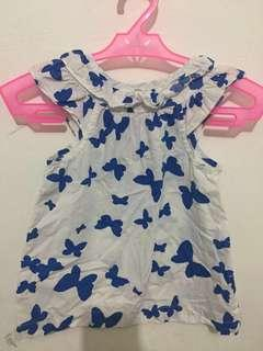 Carter's Butterfly Prints Top 2T