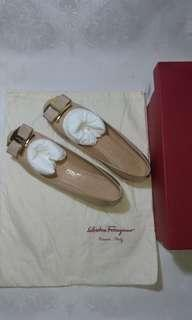 Original Salvatore Ferragamo Flats, from Japan