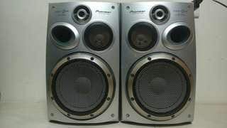 🚚 日本 先鋒 pioneer S VS99V 6吋重低音 3音路喇叭 書架喇叭 特有活塞式喇叭 享受重低音的震撼 印尼製