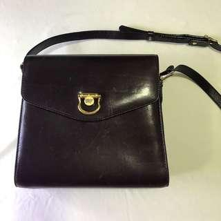 braun buffel sling bag tas branded authentic asli