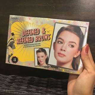 BNEW Benefit Defined and Refined Brow Set