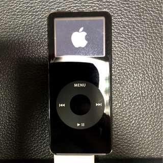 Apple iPod Nano 4G 黑色含黑色保護套