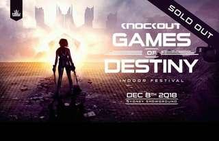 Knockout 2018 Games of Destiny Tickets