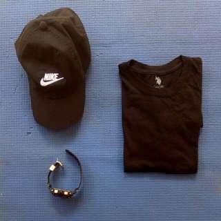 U.S. Polo Black (S)