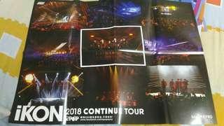 Ikon Concert in Malaysia poster