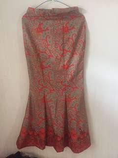 Rok Mermaid Batik