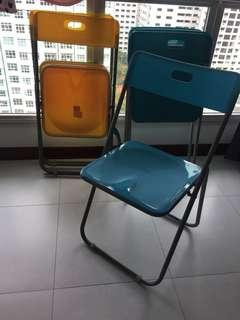 IKEA foldable chairs