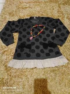 Dress usia 3 -4 thn A-256