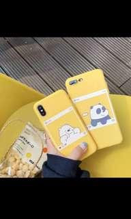 We Bare Bears Soft Case for Oppo