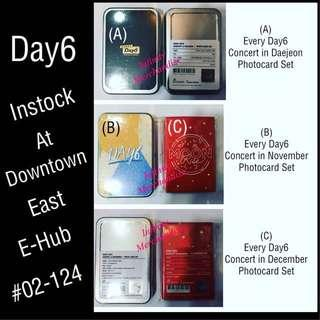 Day6 Official photocard