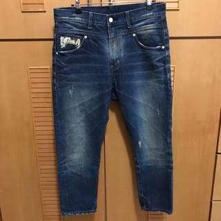 🚚 韓nobody jeans 男友風垮褲 28