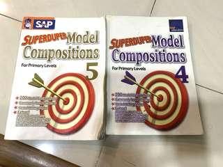 Primary 4 and 5 Superduper model compositions