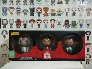 🚚 Funko Dorbz 3 pack Wreck It Ralph Fix It Felix Turbo Summer Convention Exclusive Toy Collectible Disney Cartoon Pixar #caroupayzerofees