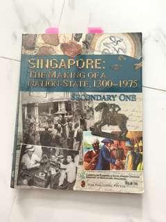 Sec 1 History Textbook instock