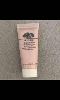 Origins rose face clay mask