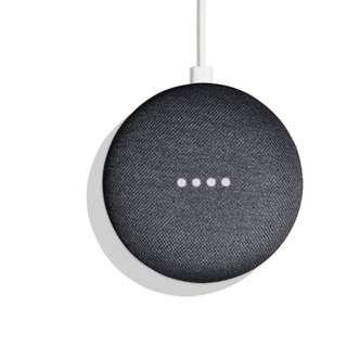 NEW Google Home Mini Smart Small Speaker Chalk Voice Activated with Chromecast