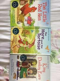 3 books! Usborne First Reading