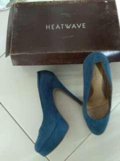Heat wave blue