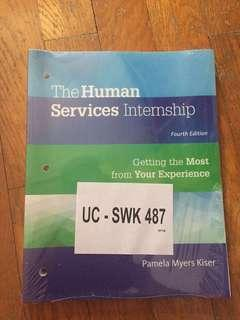 🚚 The human services internship 4th edition by Pamela Myers Kiser
