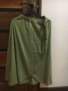 Maxi Green Skirt