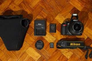 Nikon D3100 | kitlens | 14mp with video