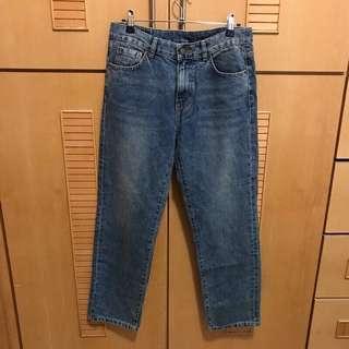 🚚 Water jeans牛仔AB褲 M