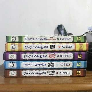 Diary of a Wimpy Kid Series by Jeff Kinney (Books 3-7)
