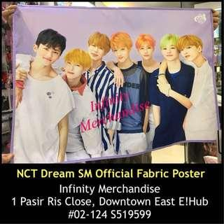 NCT Dream SM Official Fabric Poster