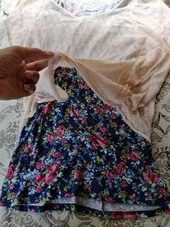 Office Butterfly Floral Lace Blouse