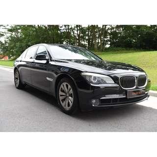 BMW 7 Series 740Li Rental $610/Week