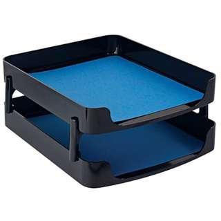 **Clearance** DESIGNER RANGE Heavy Duty Tenex Series 23000 (Two-Tier Front Load Letter Tray)