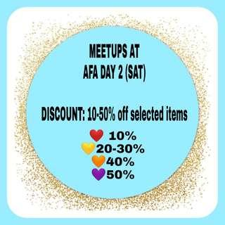 [LIMITED] SALE for AFA (SAT) AND EOY