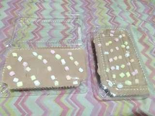 Mocha Mallows Graham Cake