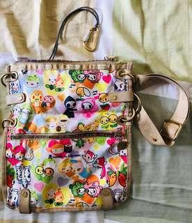 Authentic Tokidoki Lesportsac Amore Spiaggia purse bag