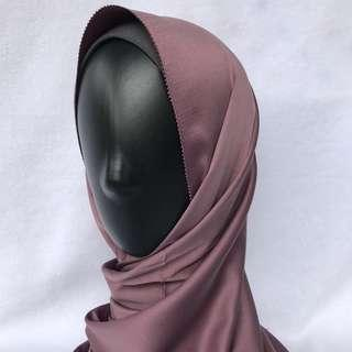 Eyelash Matte Satin Shawl