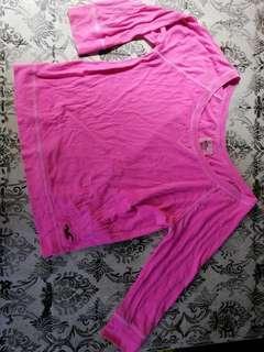 Pink Hollister Long Sleeve