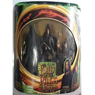 Lord of the Rings Witchking Ringwraith Strider and Frodo