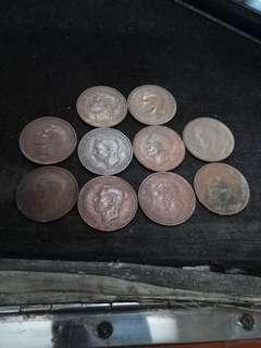 澳洲 penny 10枚