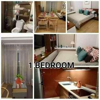 Condominium with World class amenities and man made falls Php 14,000monthly only
