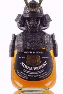 現貨 最後一支 全場最平 全新 正貨 日本 Nikka 限量 版 武士 威士忌 whisky gold & gold samurai 750ml 特別 版 武士酒 山崎 白洲 響