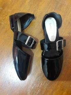 Bembiibloop shoes glossy black