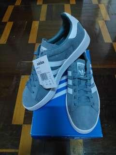 100% Adidas Originals Men's Campus Shoes Sneakers Raw Green - B37822 NEW credit card accepted