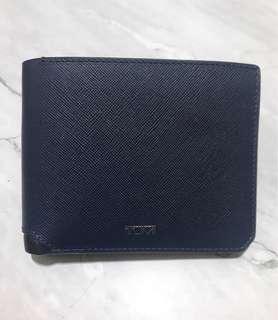 Tumi Navy Wallet