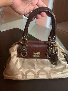 Preloved Coach Two-way bag