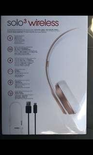 Dr dre beatsolo3 wireless