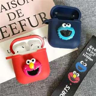 Po Airpods Elmo Friends Airpod Cover